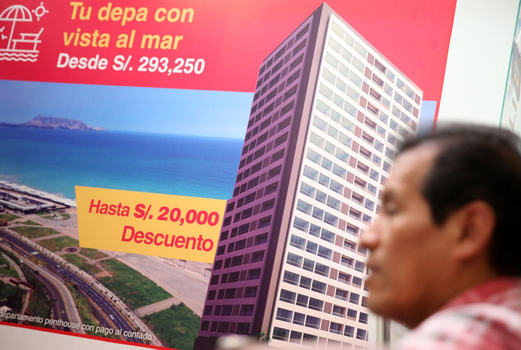 Se busca bajar tasas de interés hipotecario para las familias. ANDINA/Melina Mejía