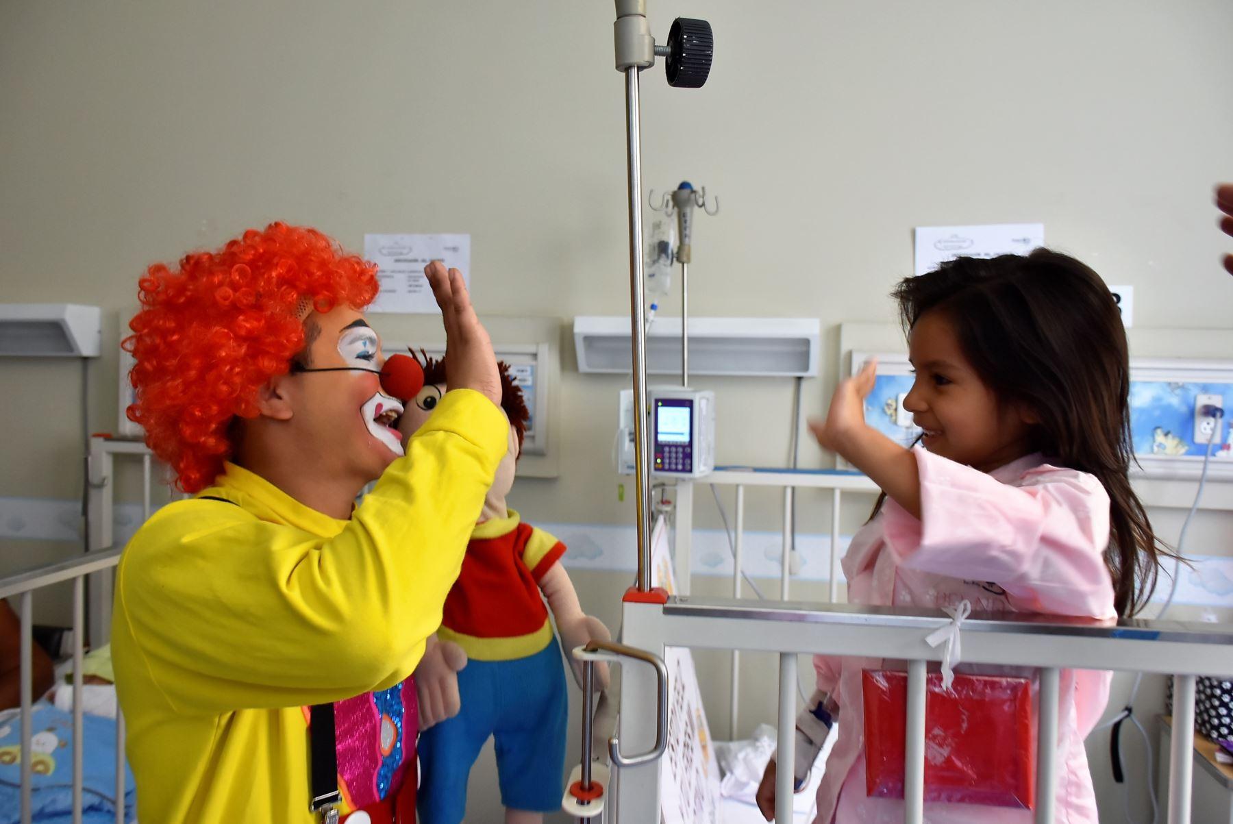 Un 30% de niños hospitalizados pueden presentar sintomatología depresiva. Foto: ANDINA/Difusión.