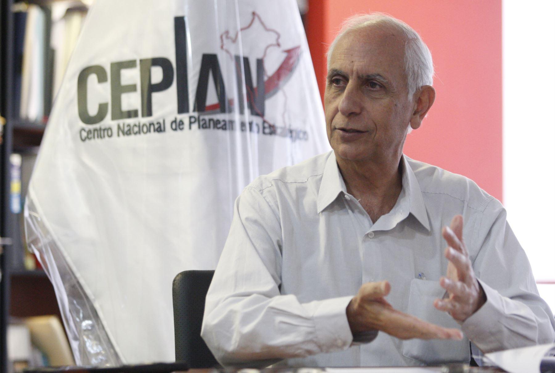 Presidente de Ceplan, Javier Abugattás. ANDINA/Eddy Ramos