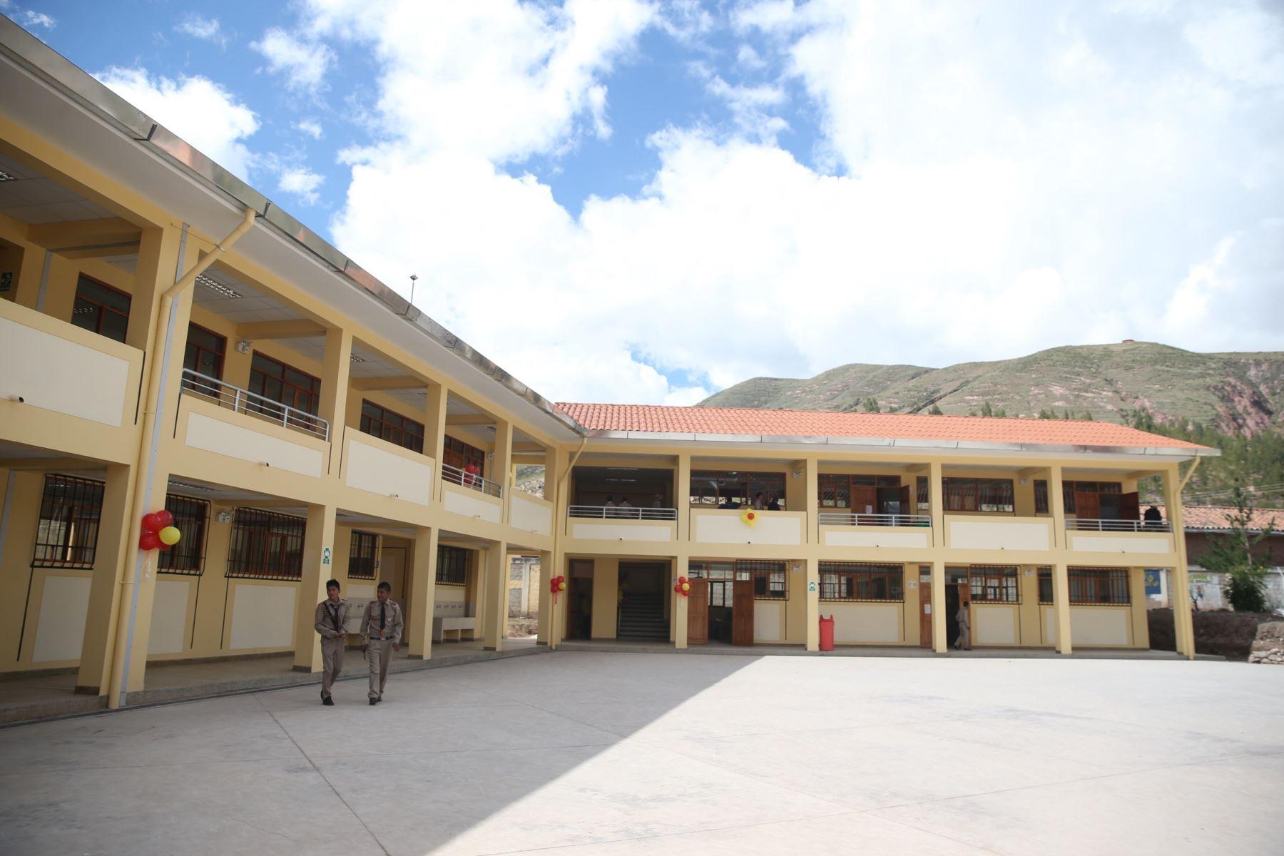 El Ministerio de Educación autorizó el inicio de clases presenciales en colegios rurales de zonas libres de coronavirus. ANDINA/Difusión