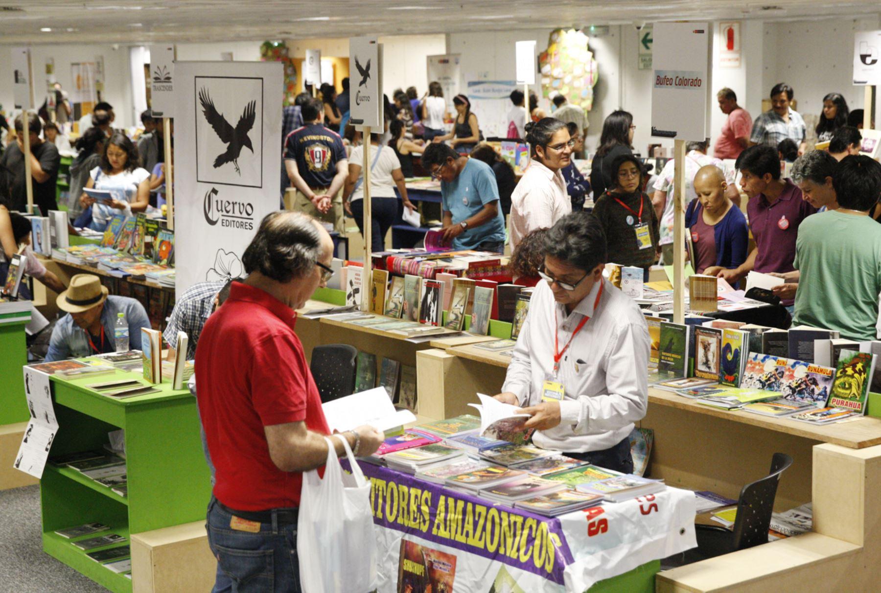 Feria La Independiente Foto. ANDINA/Eddy Ramos.