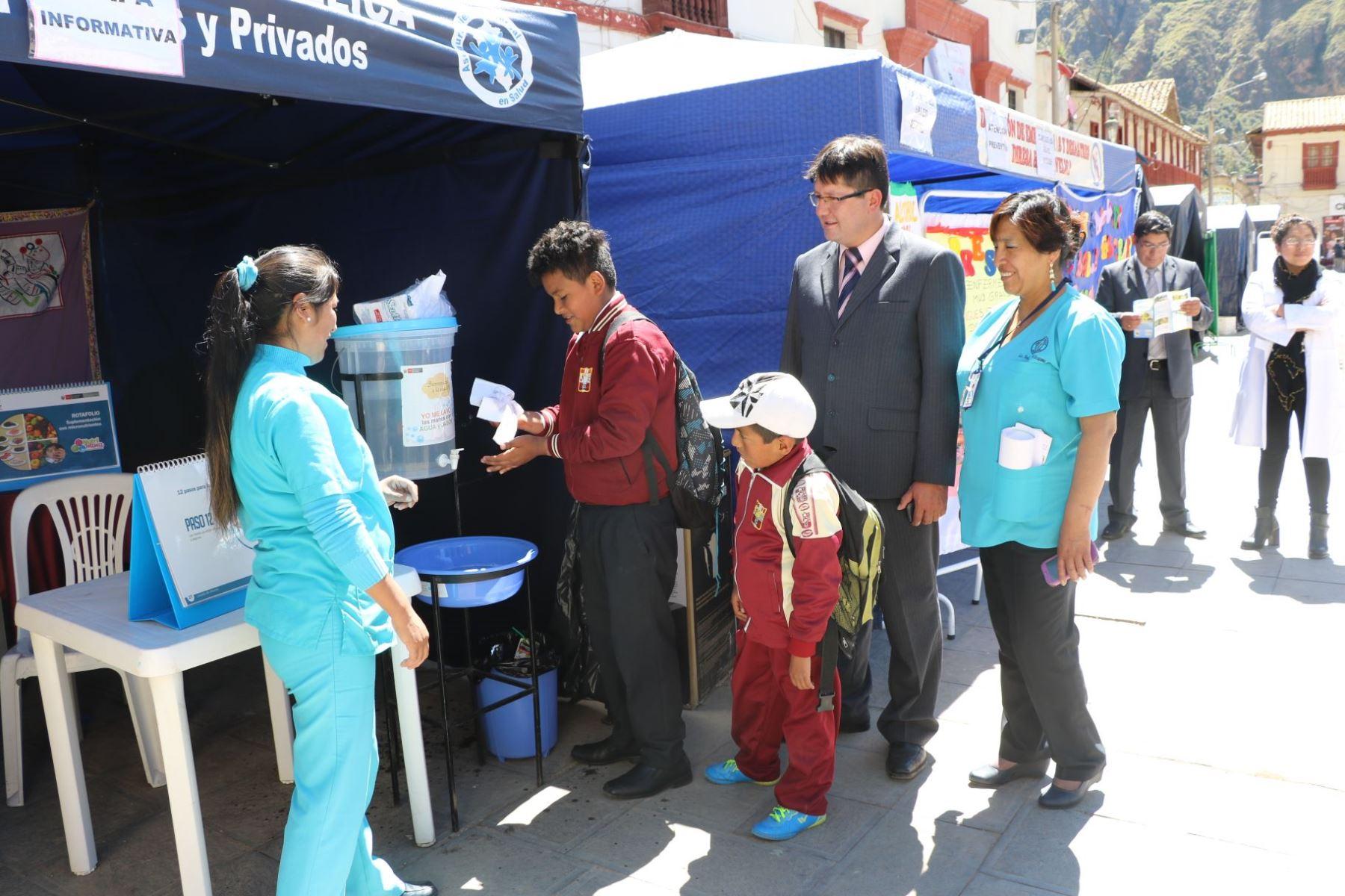 La actividad estuvo a cargo Diresa Huancavelica a través de la Red de Salud Huancavelica, Hospital Regional Zacarías Correa Valdivia y los establecimientos de salud de la jurisdicción.
