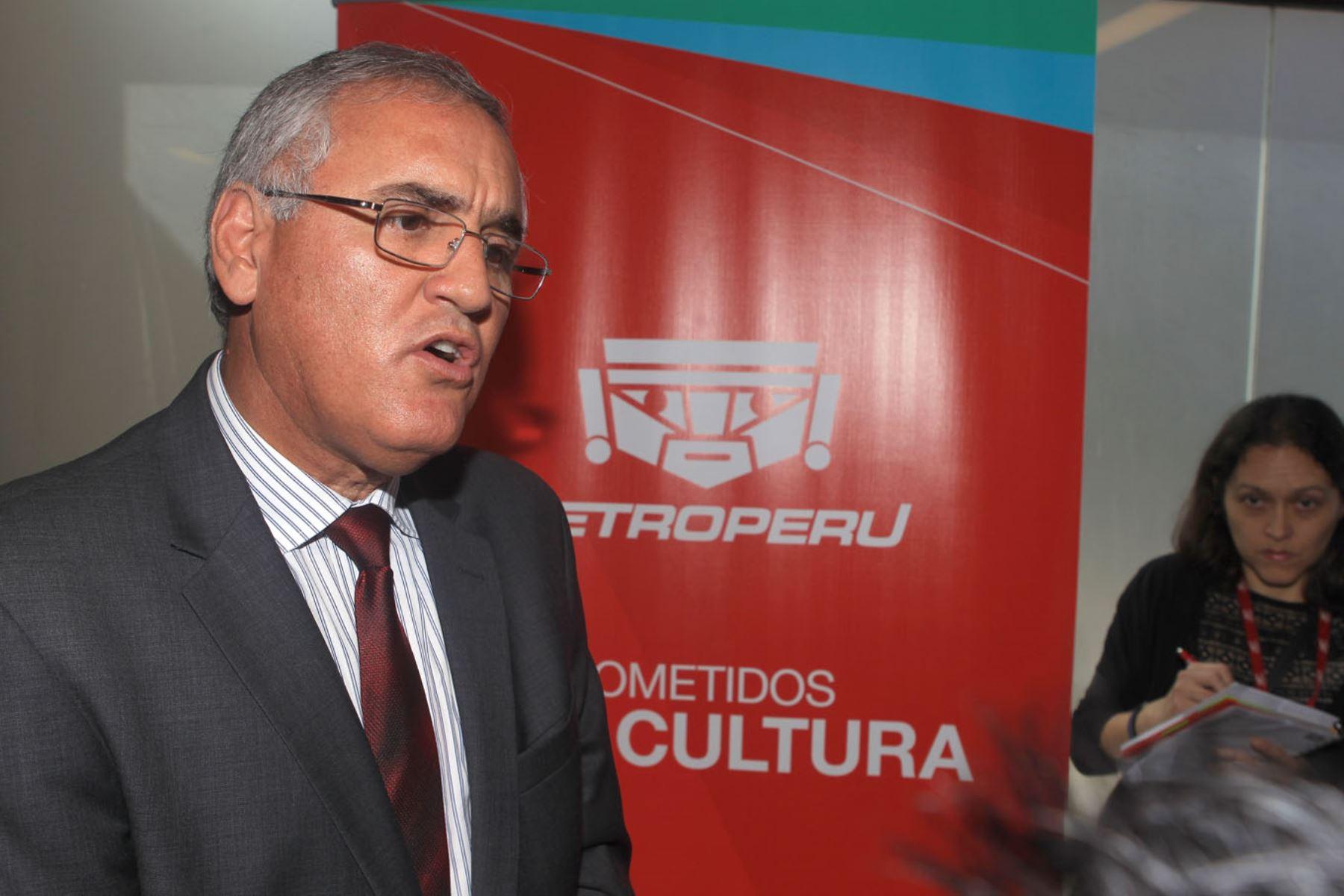 Luis Eduardo García Rosell. Foto: ANDINA/Héctor Vinces.
