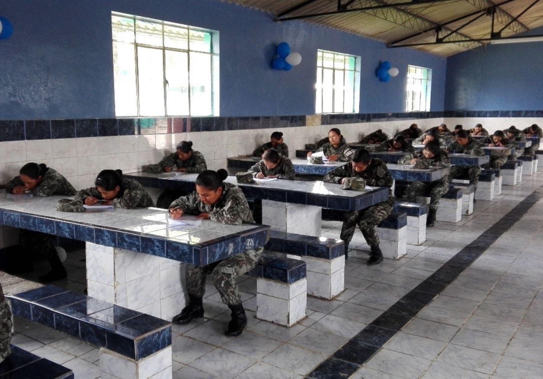 El Programa de Entrenamiento en Salud Pública capacitará este año a soldados de Ayacucho y Cusco.