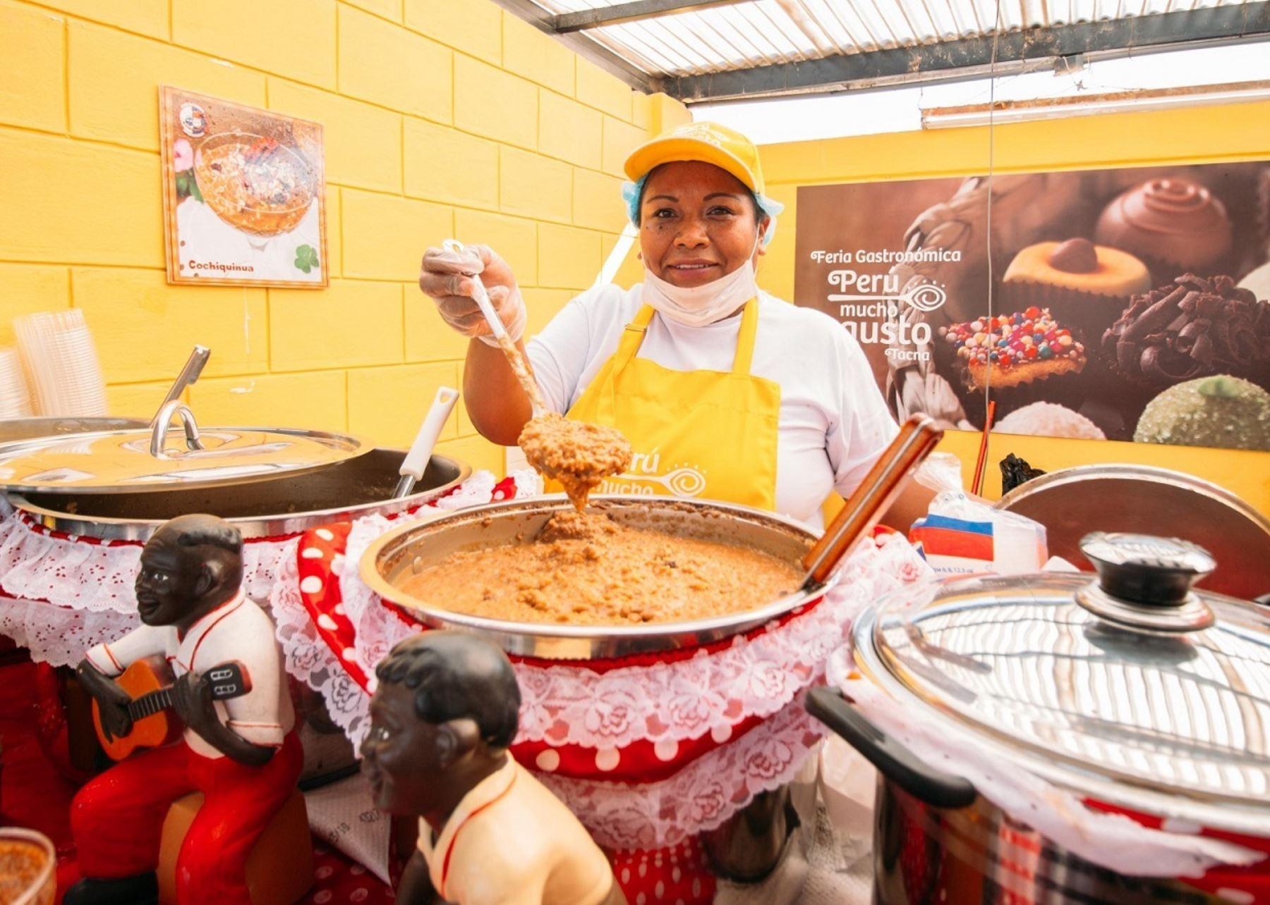 Más de 33,000 personas disfrutaron en Tacna de feria gastronómica Perú, mucho gusto.