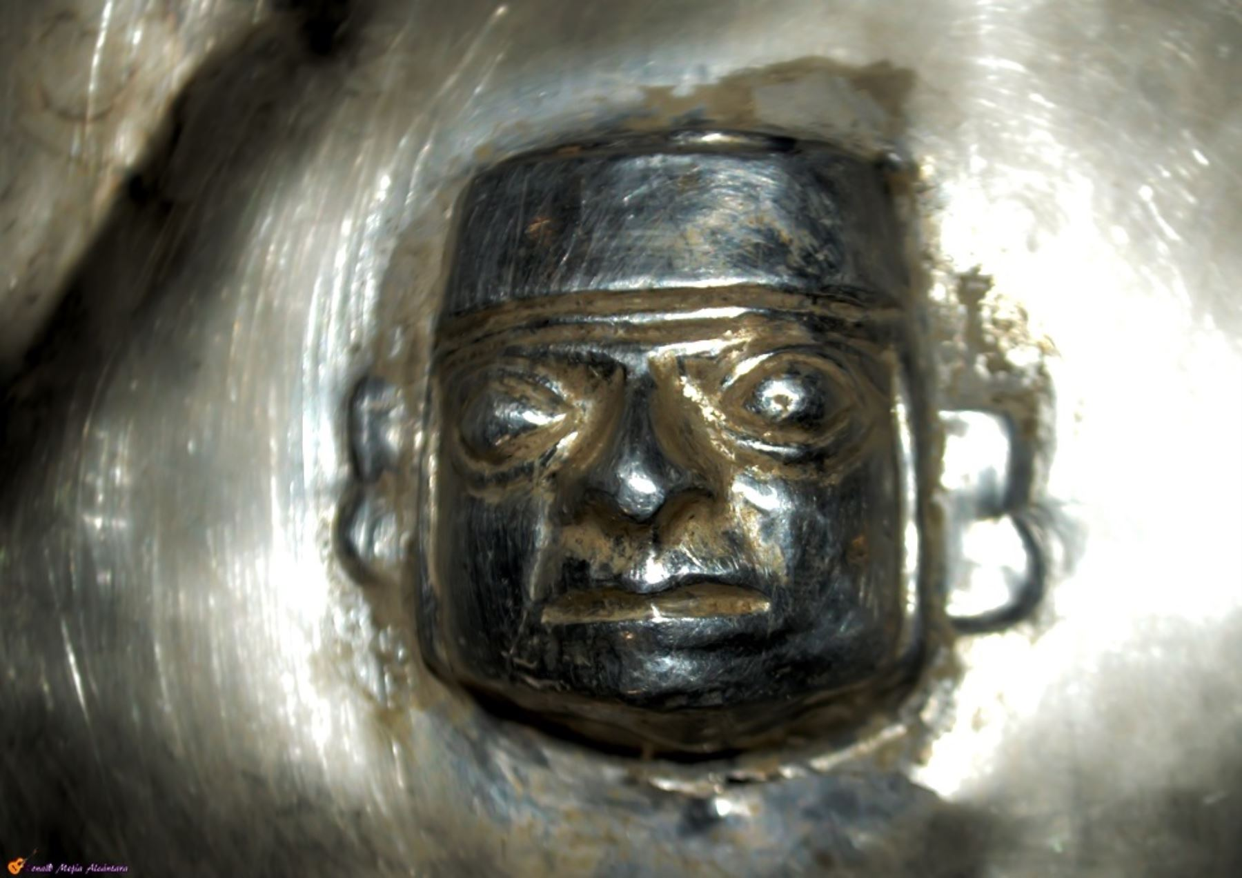 Las 92 piezas de oro y plata halladas en el cerro Ilucán, permanecen bajo custodia de la Municipalidad Provincial de Cutervo, Cajamarca. Cortesía