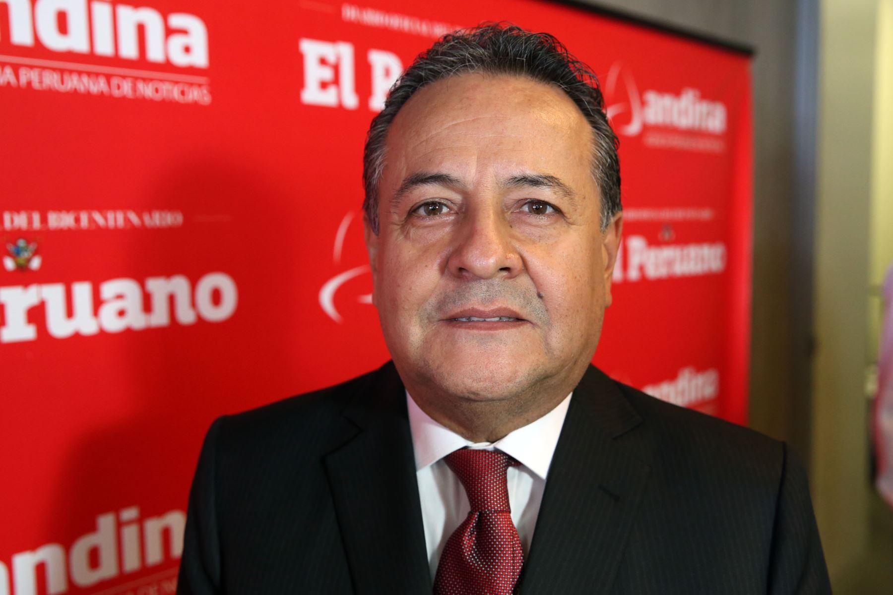 Alfonso Velásquez. Foto: ANDINA/Dante Zegarra
