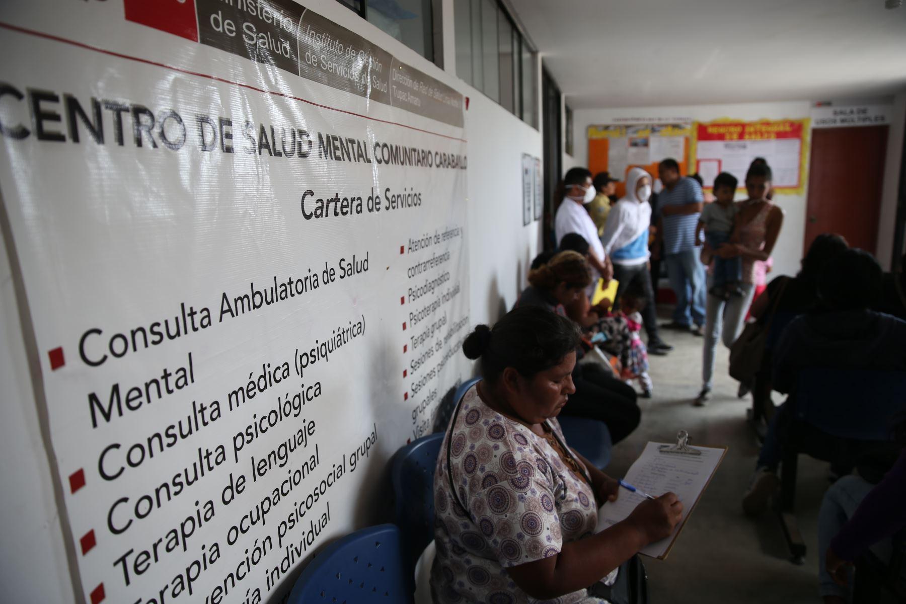 Centro Comunitario de Salud Mental de Carabayllo. Foto: ANDINA/Oscar Farje