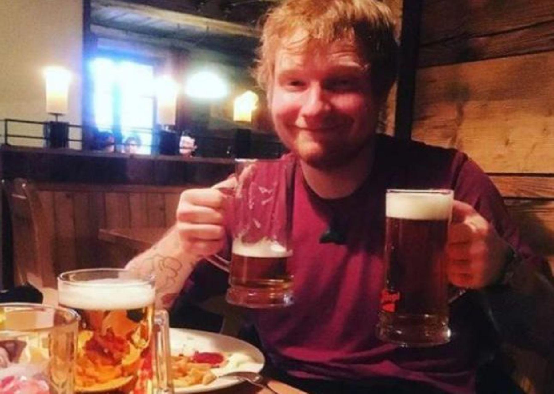Ed Sheeran visitó Machu Picchu junto a su novia | Noticias ...