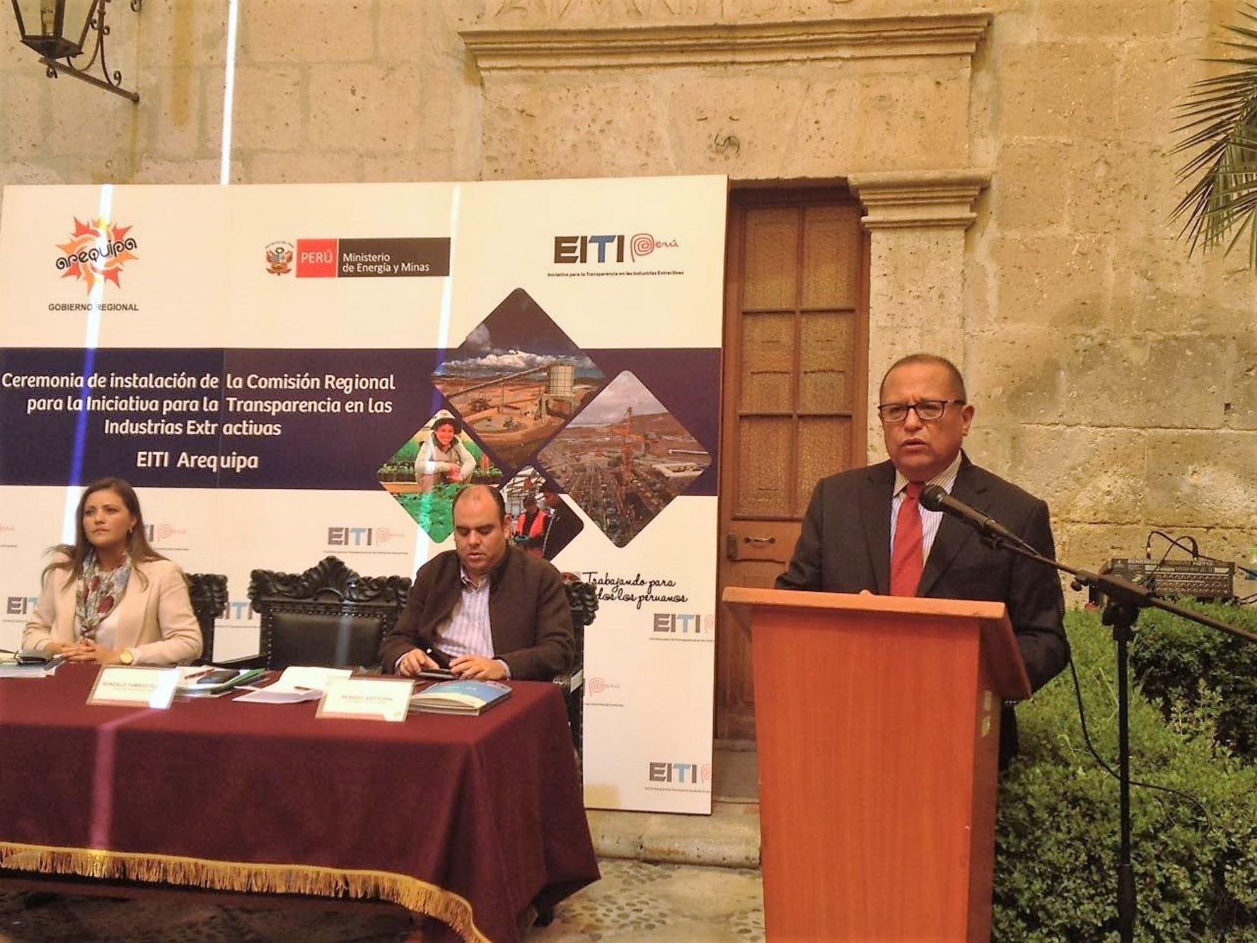 Instalan comisión en Arequipa que promoverá transparencia de aportes del canon.Foto:  ANDINA.