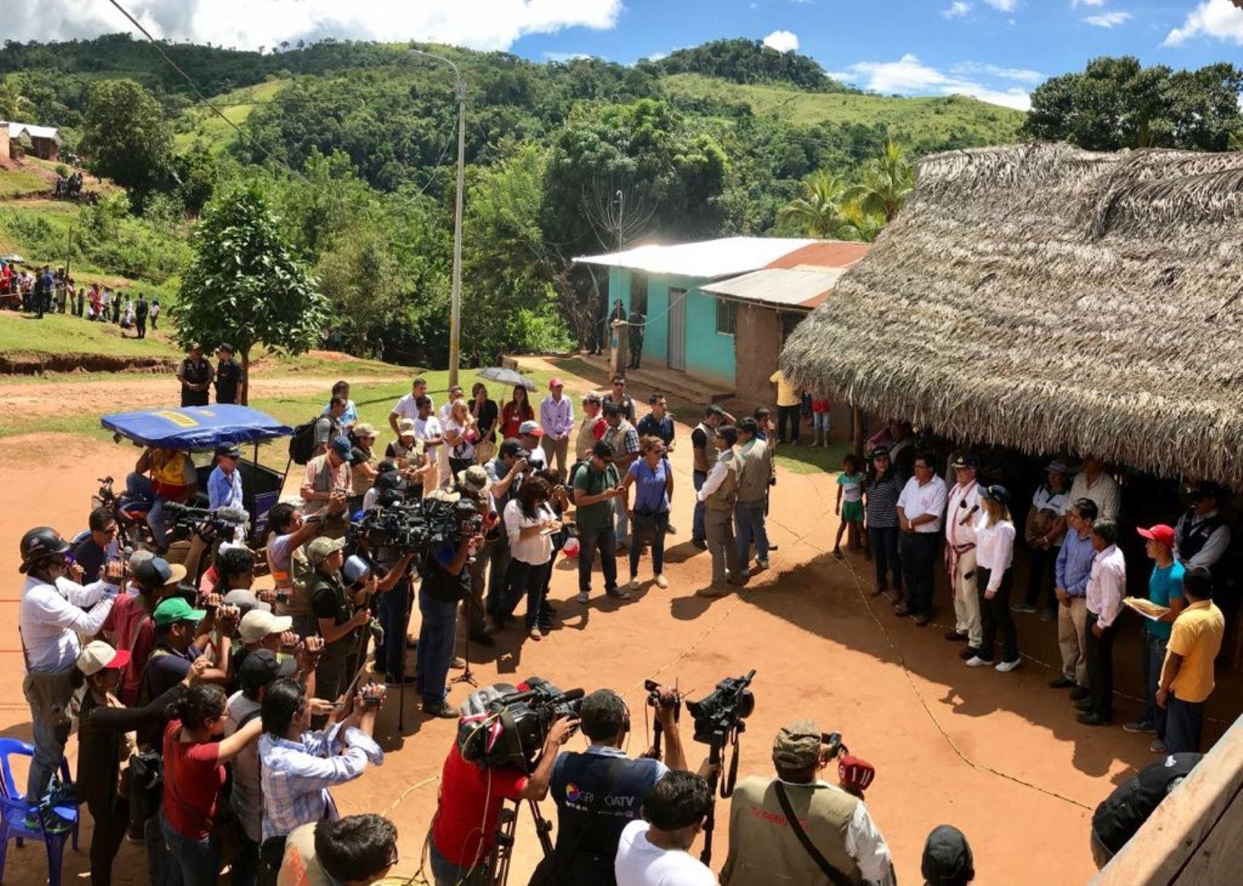Programa Noa Jayatai beneficia a más familias de la selva gracias a mayor presupuesto, destacó ministra Cayetana Aljovín.