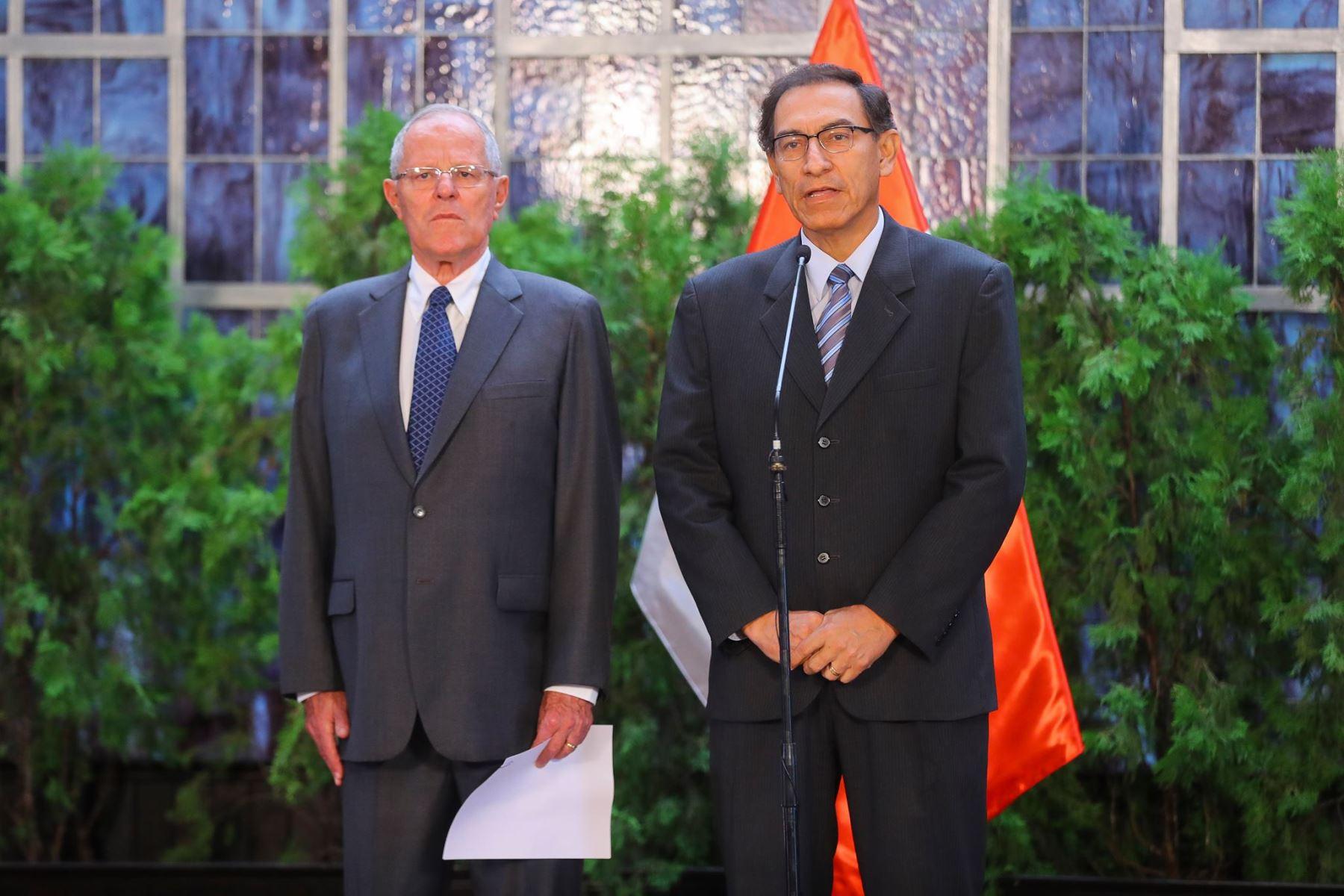 LIMA,PERÚ-MAYO 22.Martín Vizcarra renunció al cargo de ministro de Transportes. Foto: ANDINA/ Prensa Presidencia