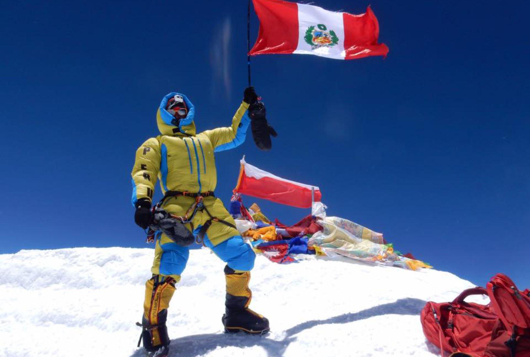 Victor Rimac en el Everest
