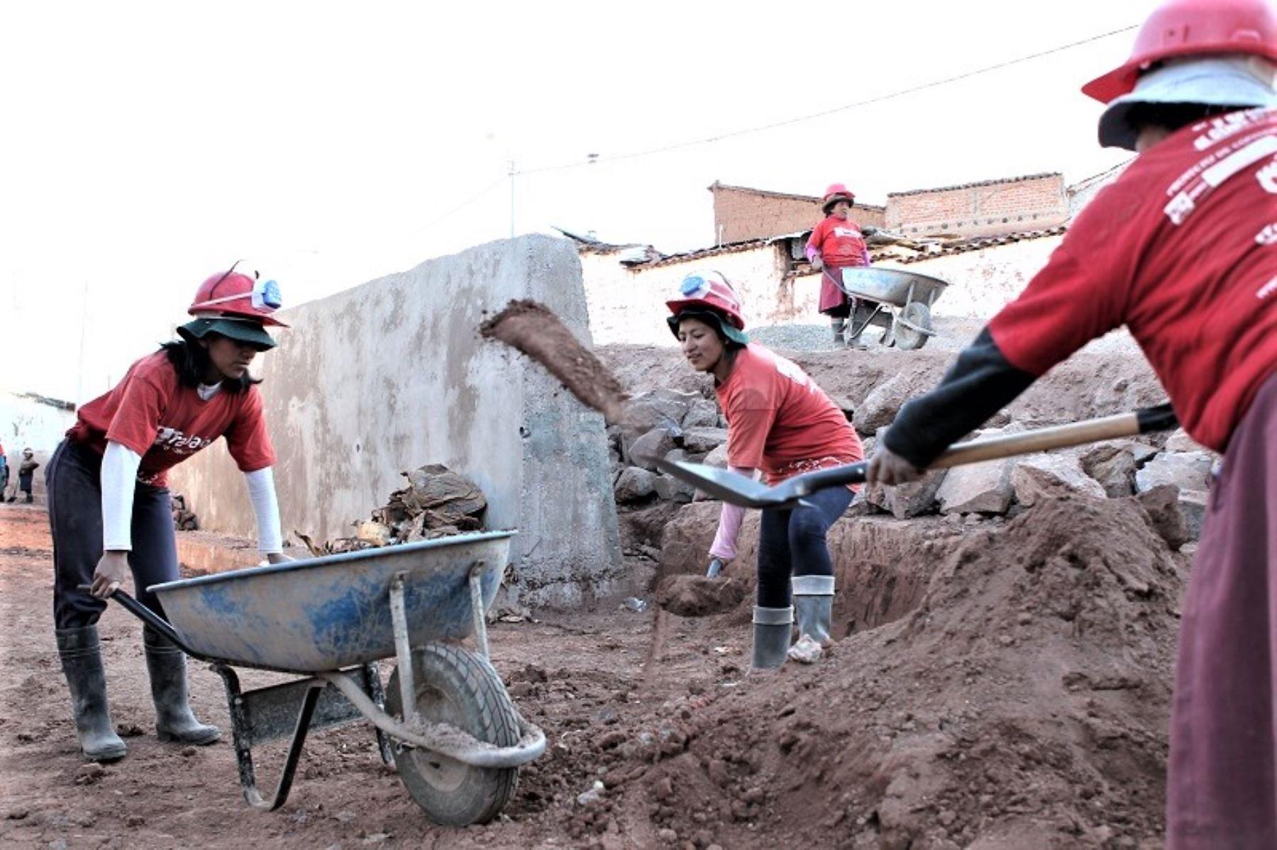 Ministerio de Trabajo genera 128 empleos temporales en Cajamarca. ANDINA/Difusión