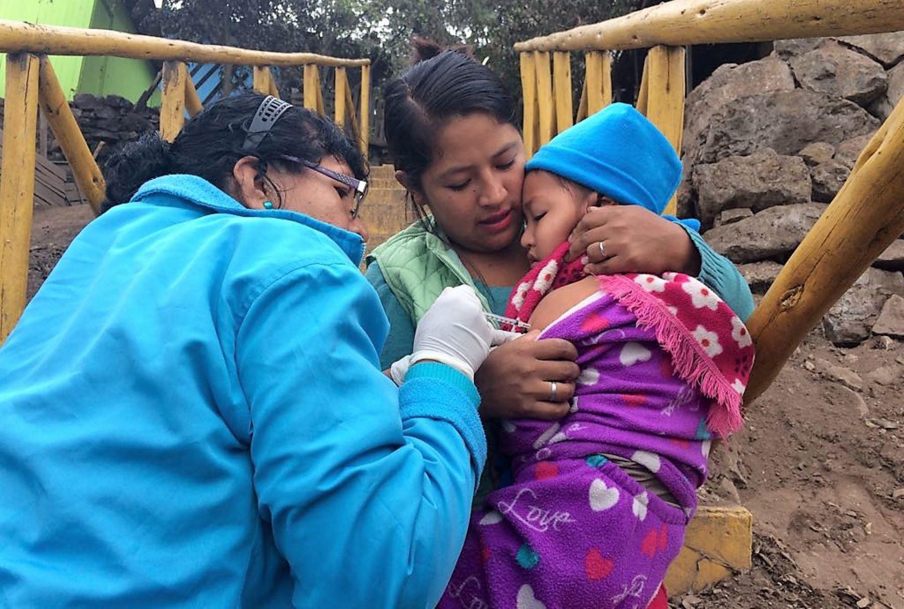 Minsa aplicará este año 17 vacunas para proteger a la población. ANDINA/Difusión
