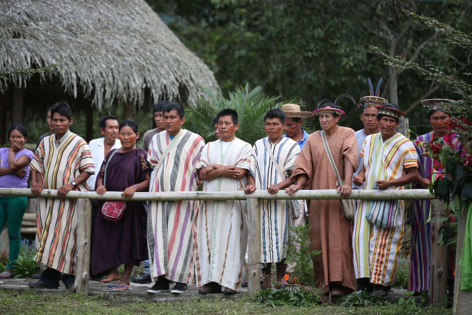 Comunidades indígenas de Ucayali participarán en negocios sostenibles en bosques.Foto: ANDINA/Archivo.