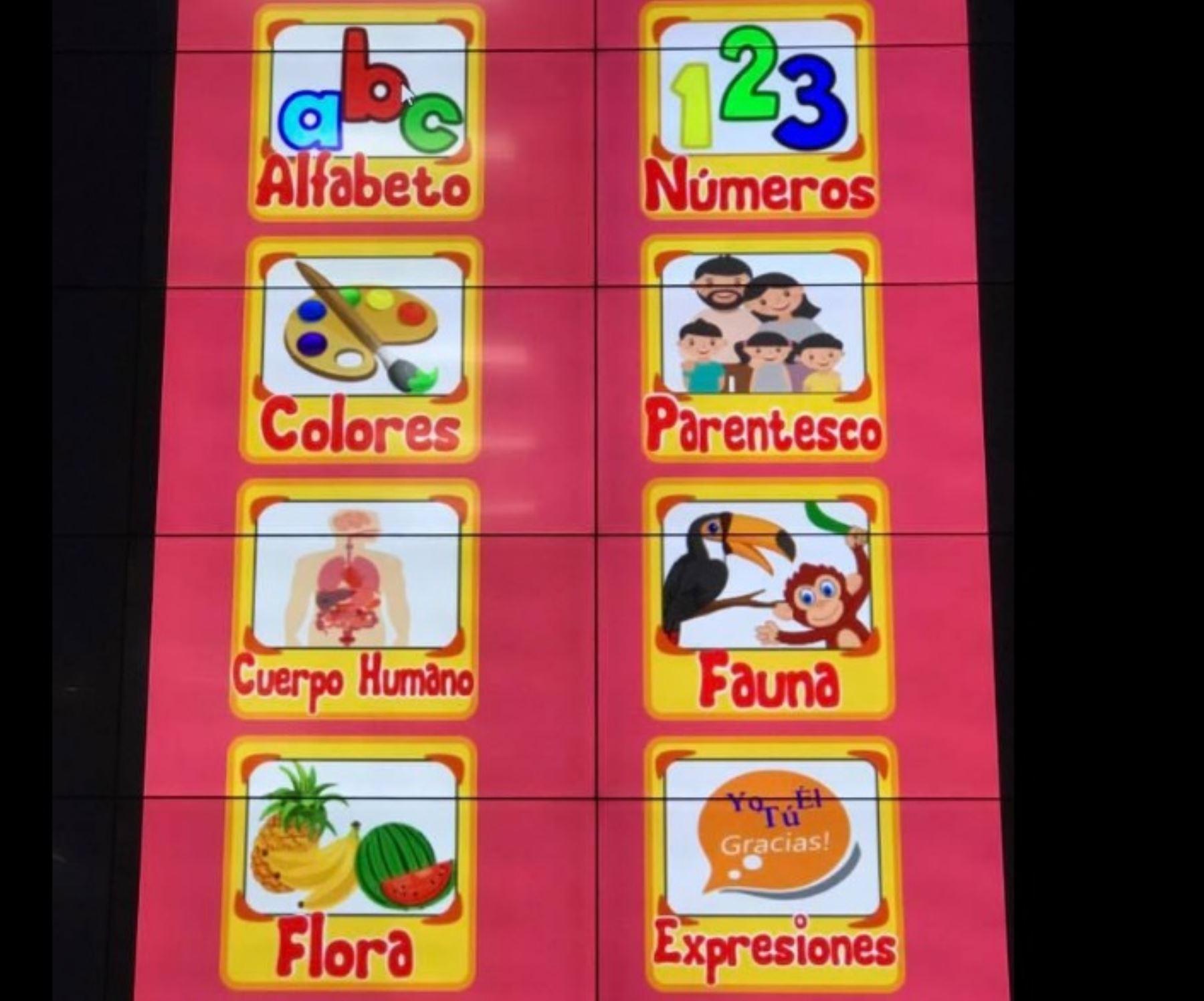 Son 15 aplicaciones (app) gratuitas para el aprendizaje de lenguas originarias amazónicas y preservación de su cultura, las que han sido creadas hasta el momento como parte del proyecto Comunidades Indígenas Inteligentes que desarrolla el Centro de Alto Rendimiento Computacional impulsado por el Instituto