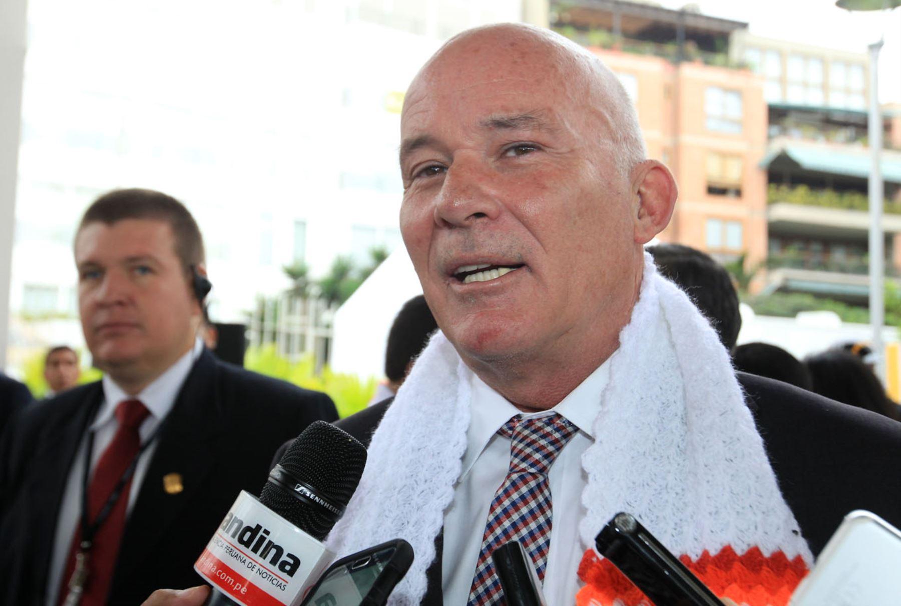 Ministro de Comercio Exterior y Turismo, Eduardo  Ferreyros. ANDINA/Héctor Vinces