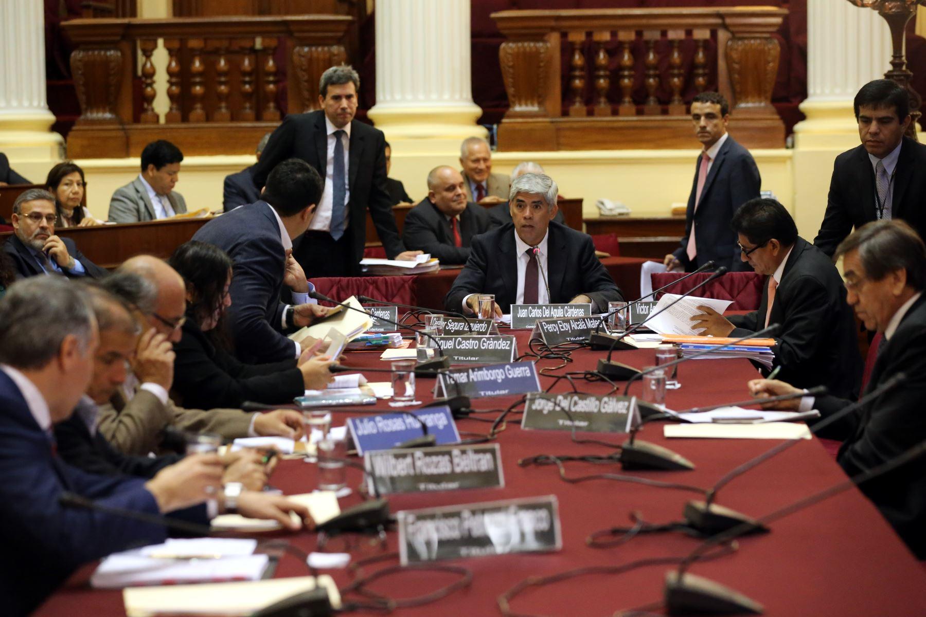 Comisión de Relaciones Exteriores del Congreso.