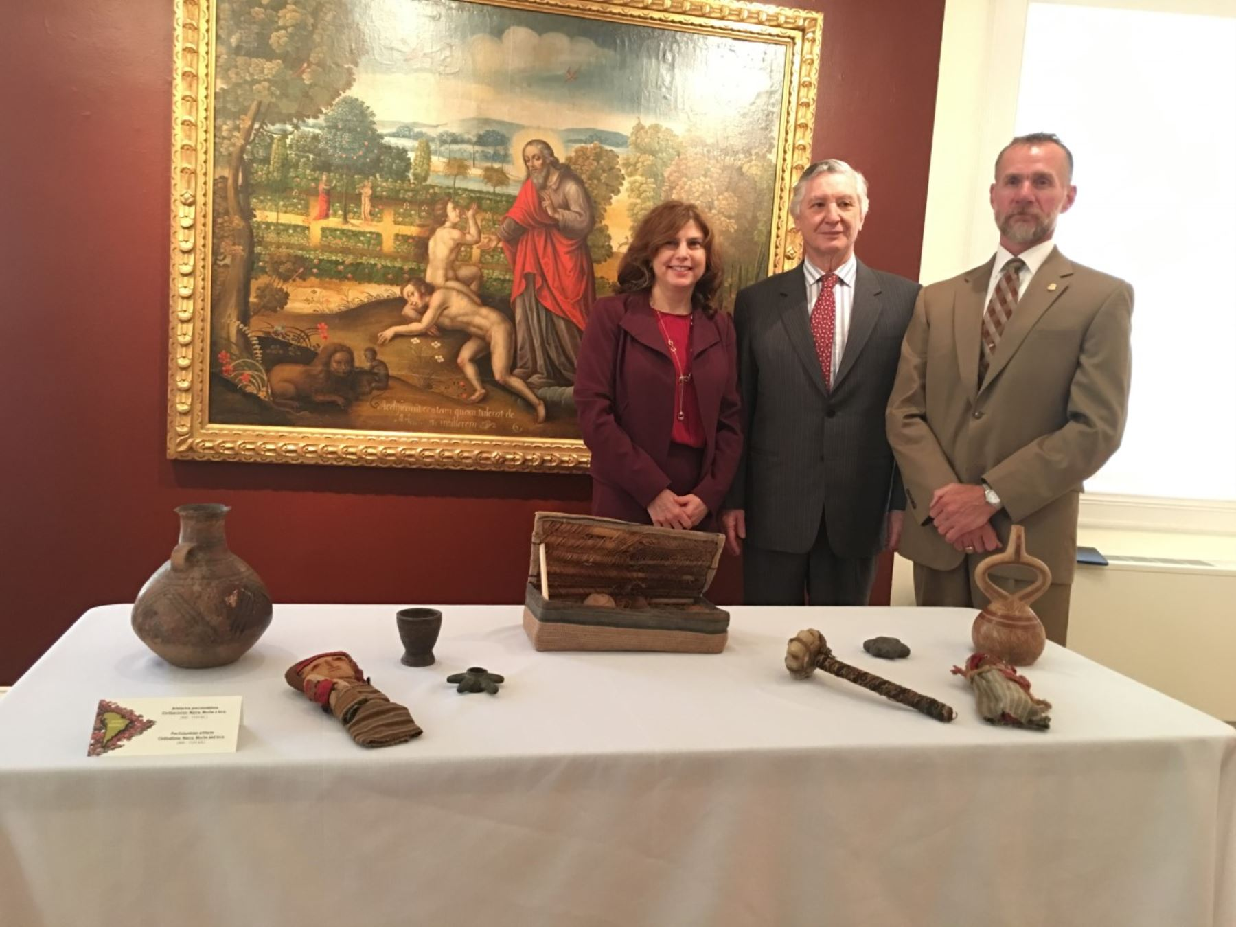 United States and Peru extend MoU on archaeological material protection