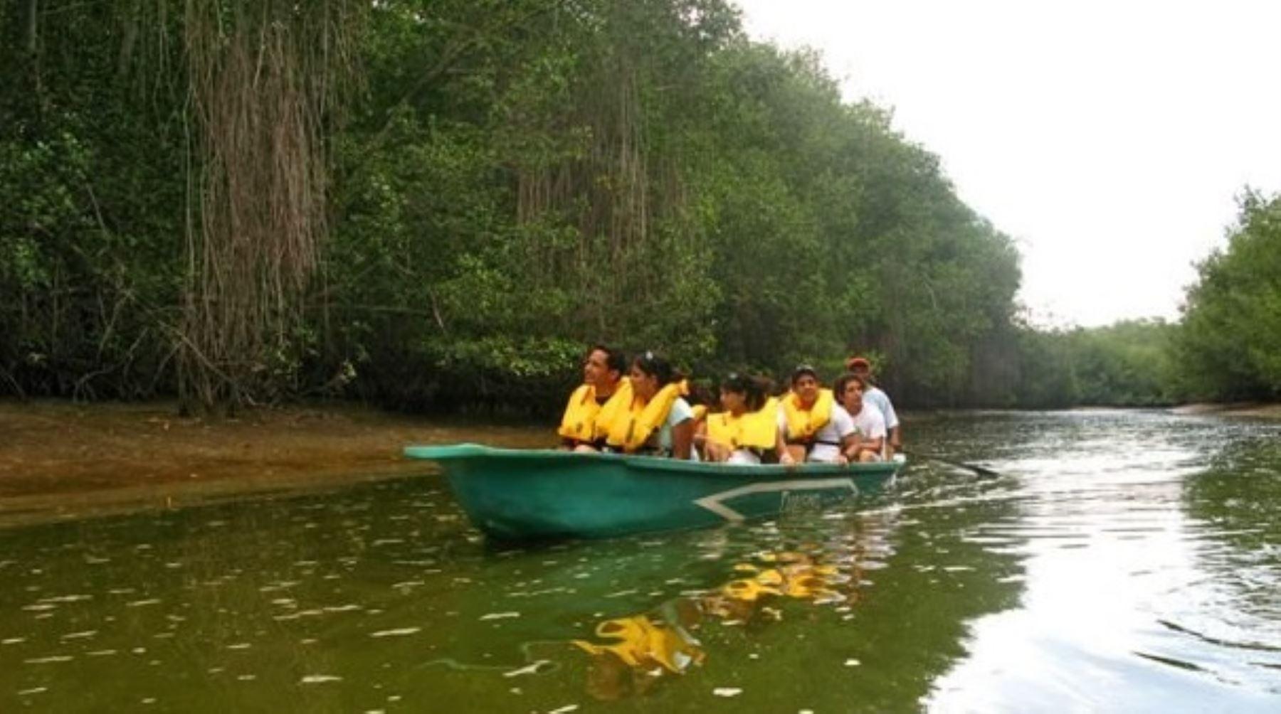 Turismo en Santuario Nacional Los Manglares de Tumbes. INTERNET/Medios