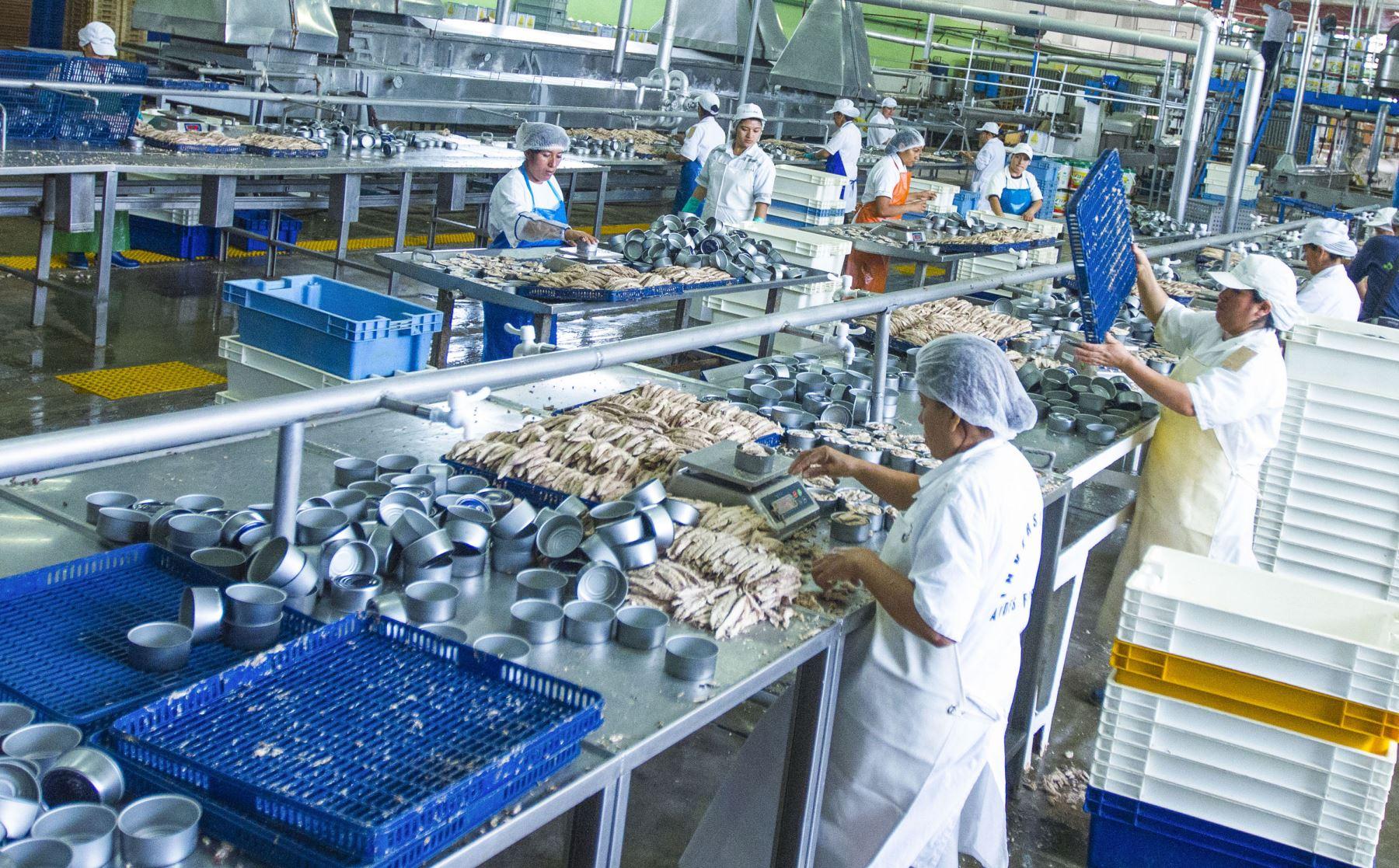 Manufactura. Foto: ANDINA/Difusión