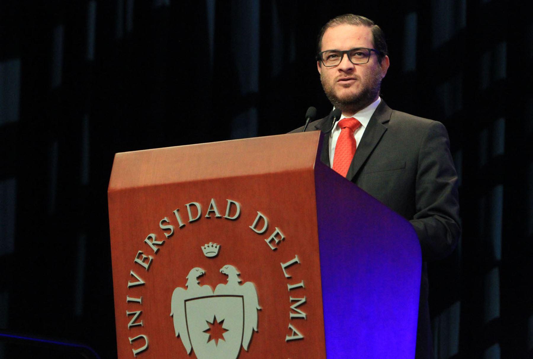 Viceministro de Comercio Exterior y Turismo, Edgar Vásquez Foto:  ANDINA/Héctor Vinces.