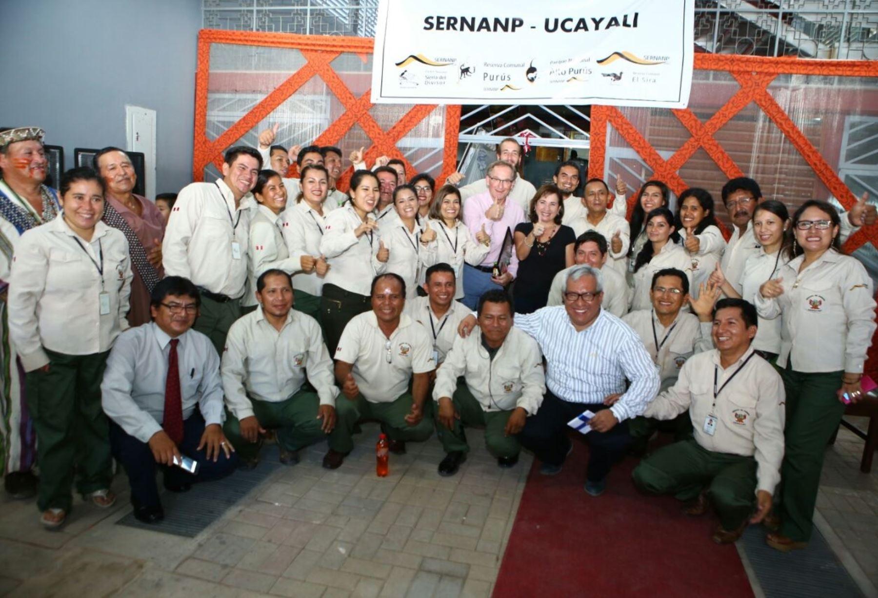 Sede del Sernanp en Ucayali articulará acciones para conservación de áreas naturales protegidas de esa región.