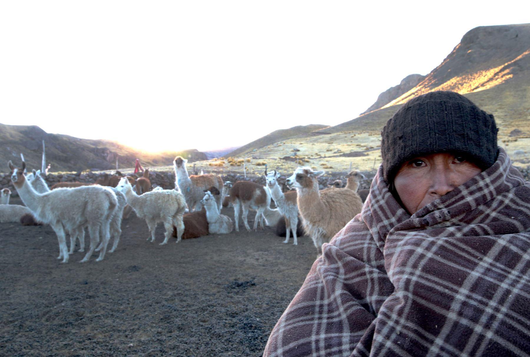 Temperatura nocturna disminuirá sobre 18 grados bajo cero en la sierra sur, pronosticó el Senamhi. . ANDINA/archivo
