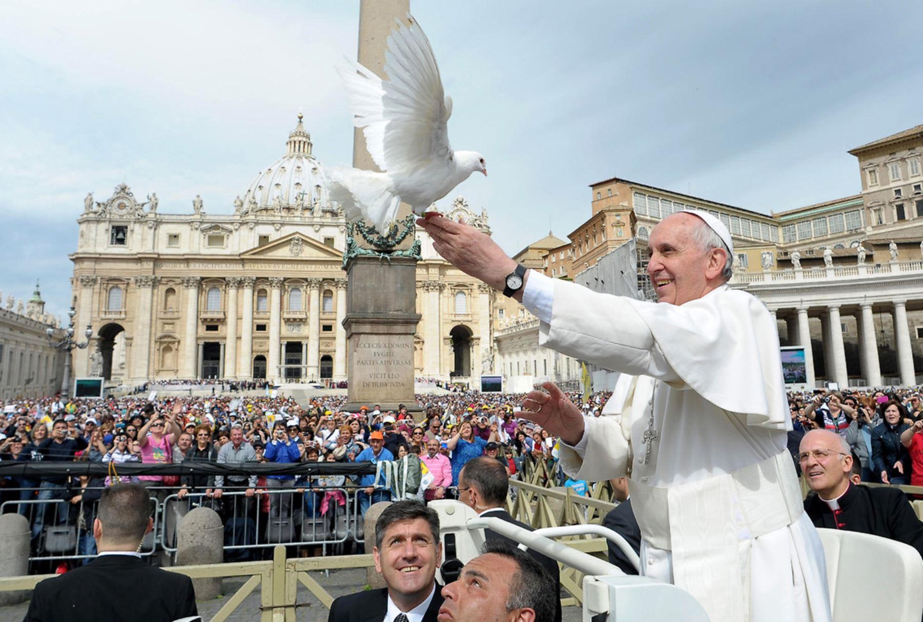 Será feriado en Trujillo y Puerto Maldonado por visita del Papa Francisco. AFP
