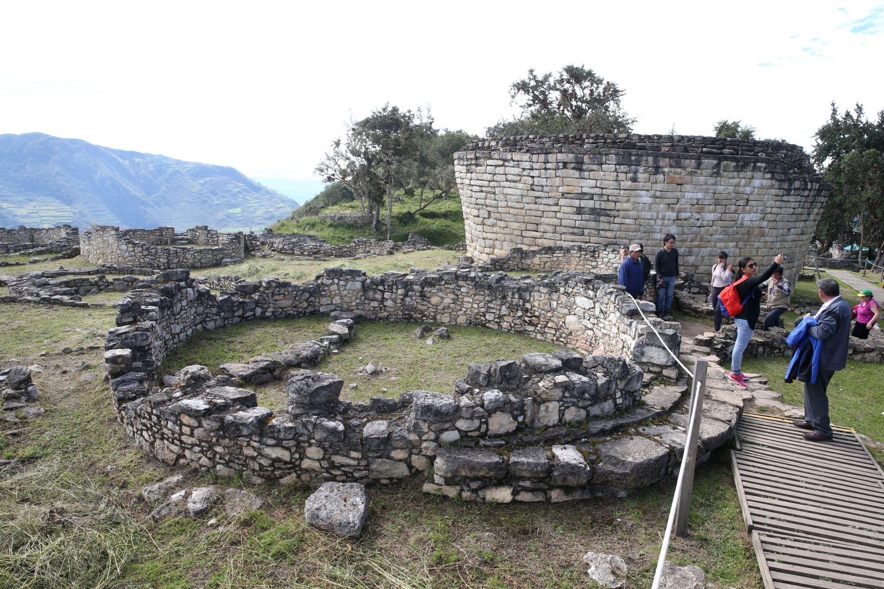 La ciudadela fortificada de Kuélap es actualmente el principal atractivo turístico de la región Amazonas y sigue cosechando reconocimientos a escala internacional. , ANDINA/Vidal Tarqui