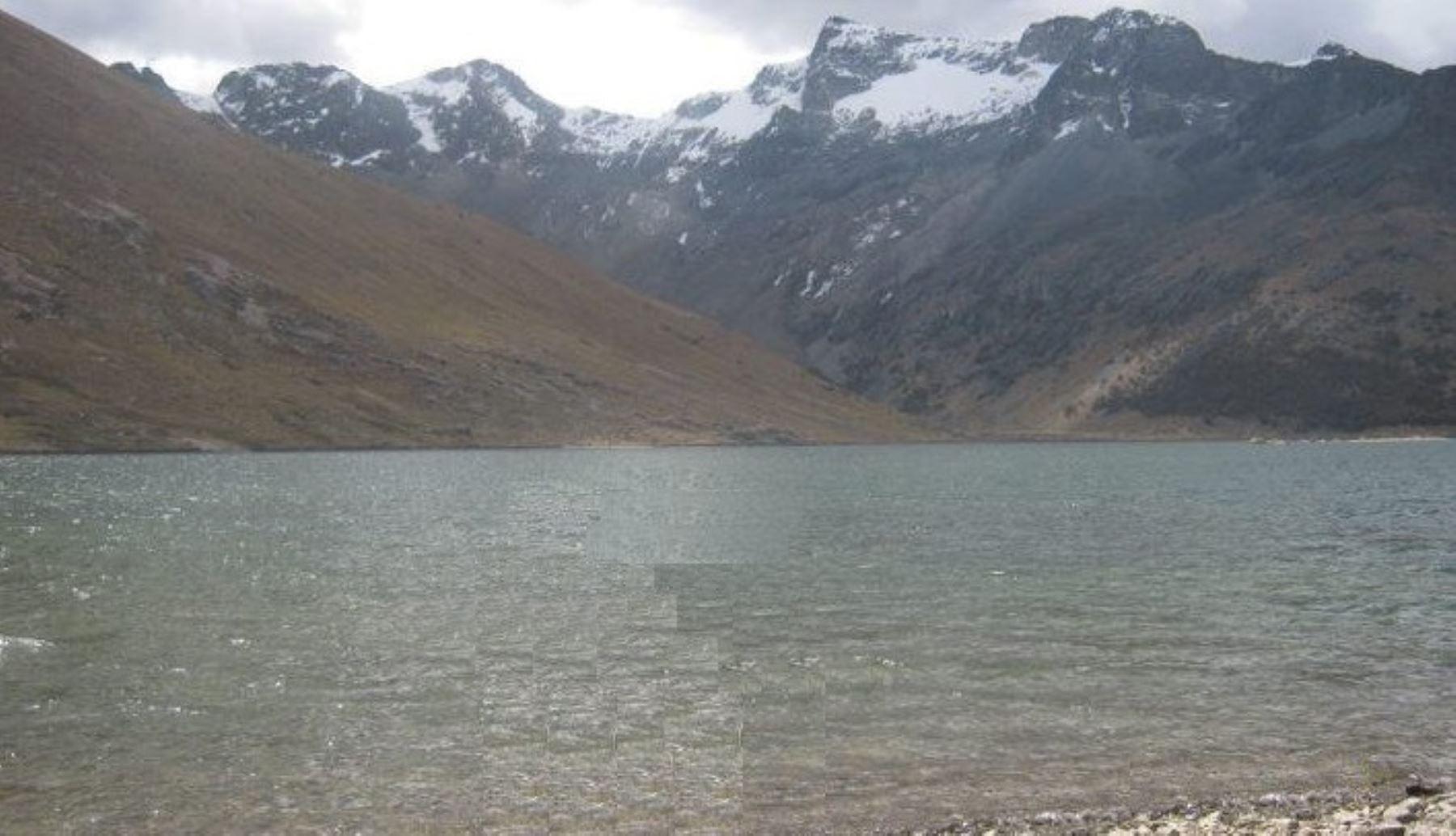 Yauyos: laguna Huancarcocha se encuentra en peligro latente de desborde. Foto: Portal Yauyos.