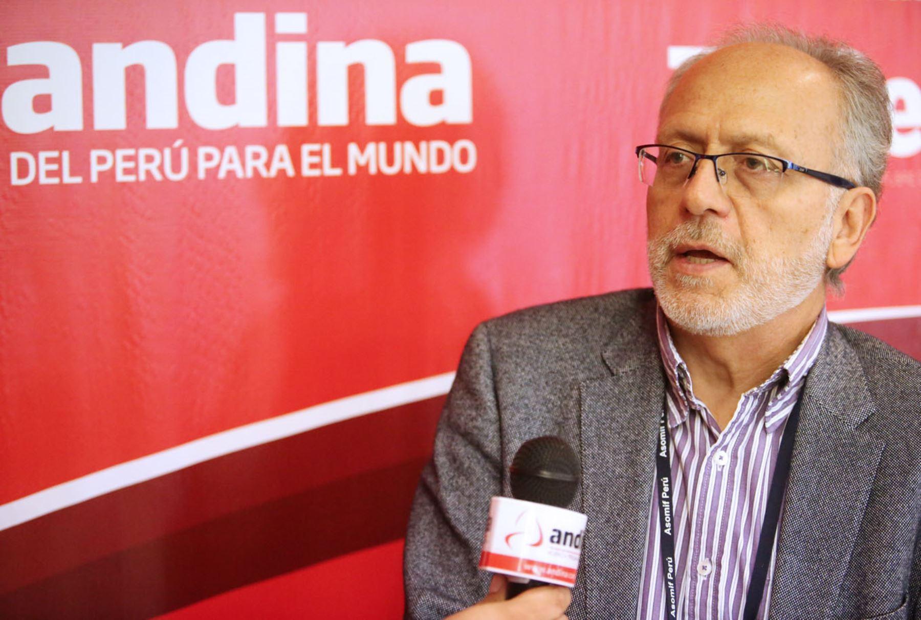 Economista Jorge Chávez. ANDINA/Melina Mejía