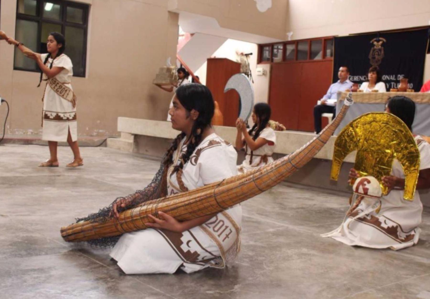 Con danzas ancestrales Lambayeque celebra hoy Día de la Identidad Muchik.