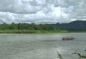 Río Napo incrementa su nivel de agua y se mantiene en alerta roja. ANDINA/Difusión