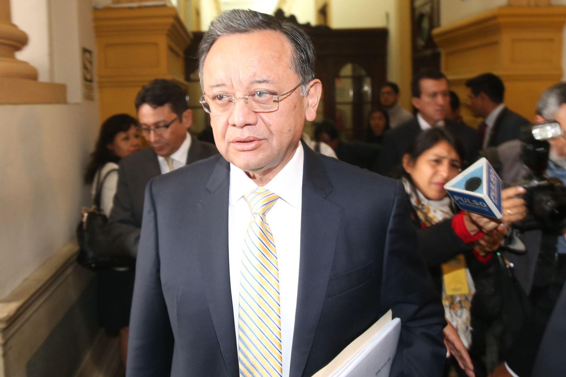 Congresista Edgar Alarcón. Foto: ANDINA/archivo.