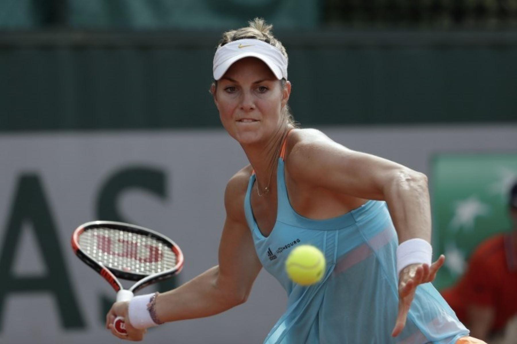Mandy Minella fue la sensación en el Wimbledon.