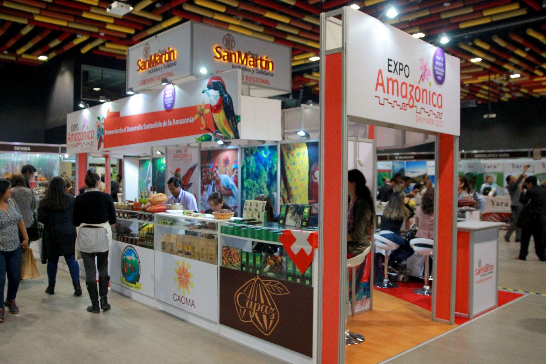 Décima edición del Salón del Cacao y Chocolate espera recibir más de 20,000 visitantes.ANDINA/Luis Iparraguirre