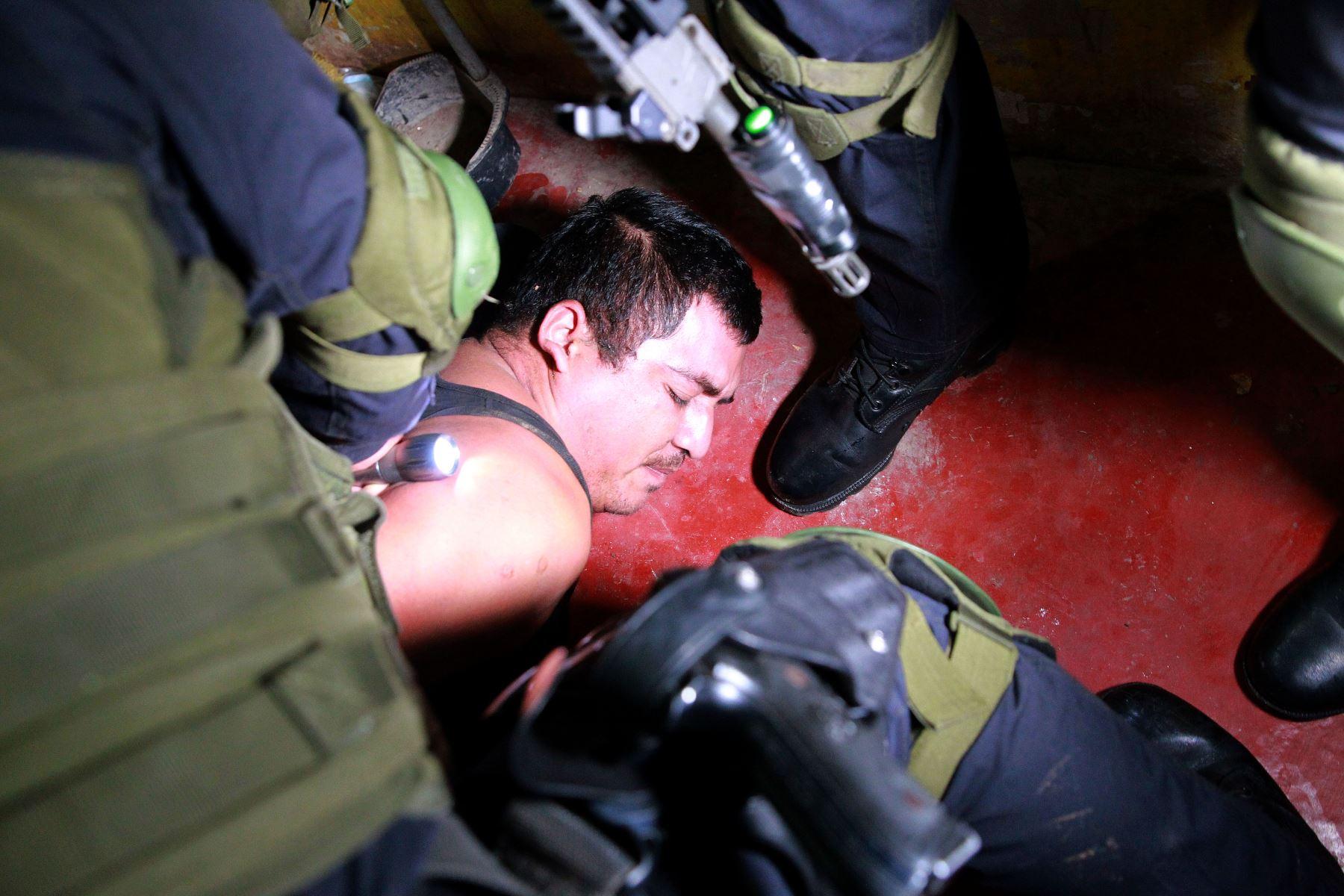 Policía Nacional y el Ministerio Público desarticulan una organización criminal dedicada a la extorsión y homicidio en La Libertad. ANDINA/Archivo