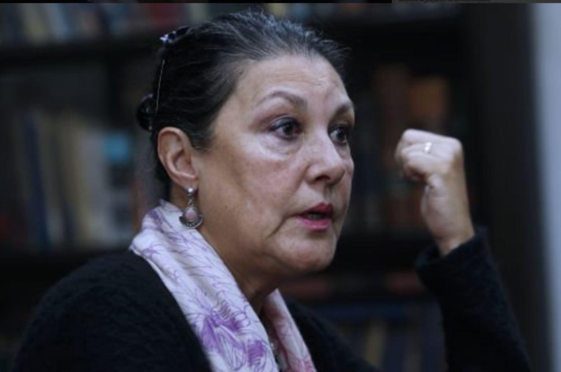 Fabiola León Velarde. Foto: ANDINA/Difusión