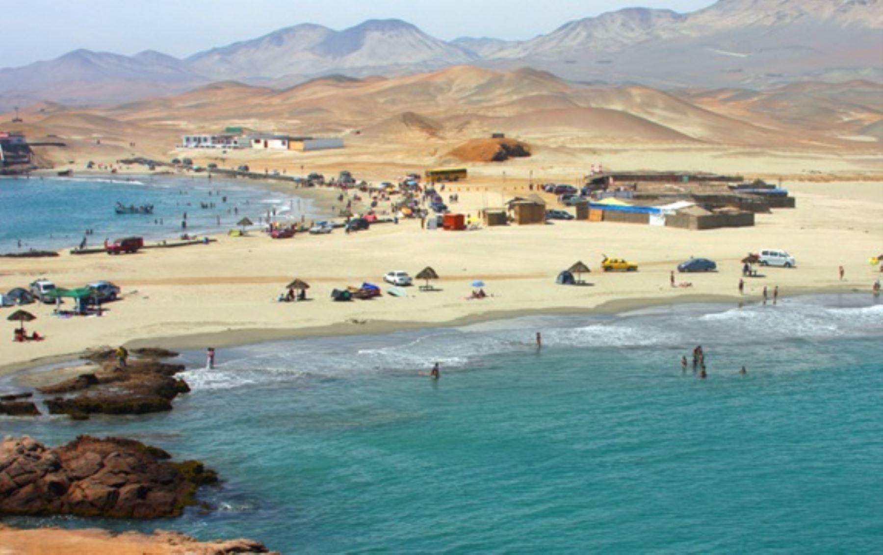 Playa Huarmey.