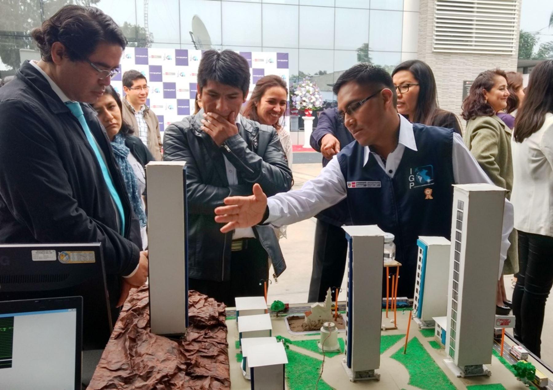 IGP presenta investigaciones orientadas a la gestión de riesgo de desastres. Foto: ANDINA/Difusión.