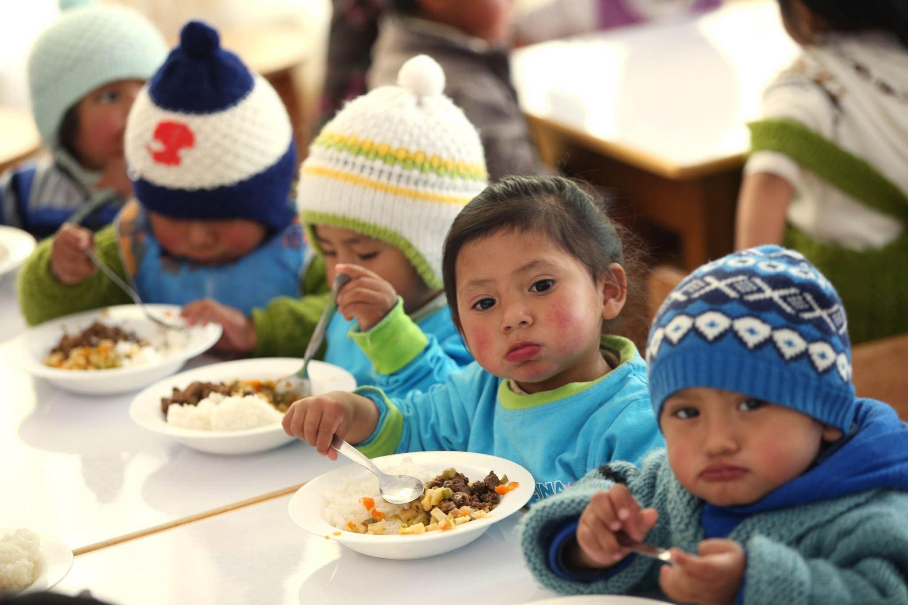 Arequipa espera reducir la anemia infantil en 14 puntos este año. ANDINA/Archivo
