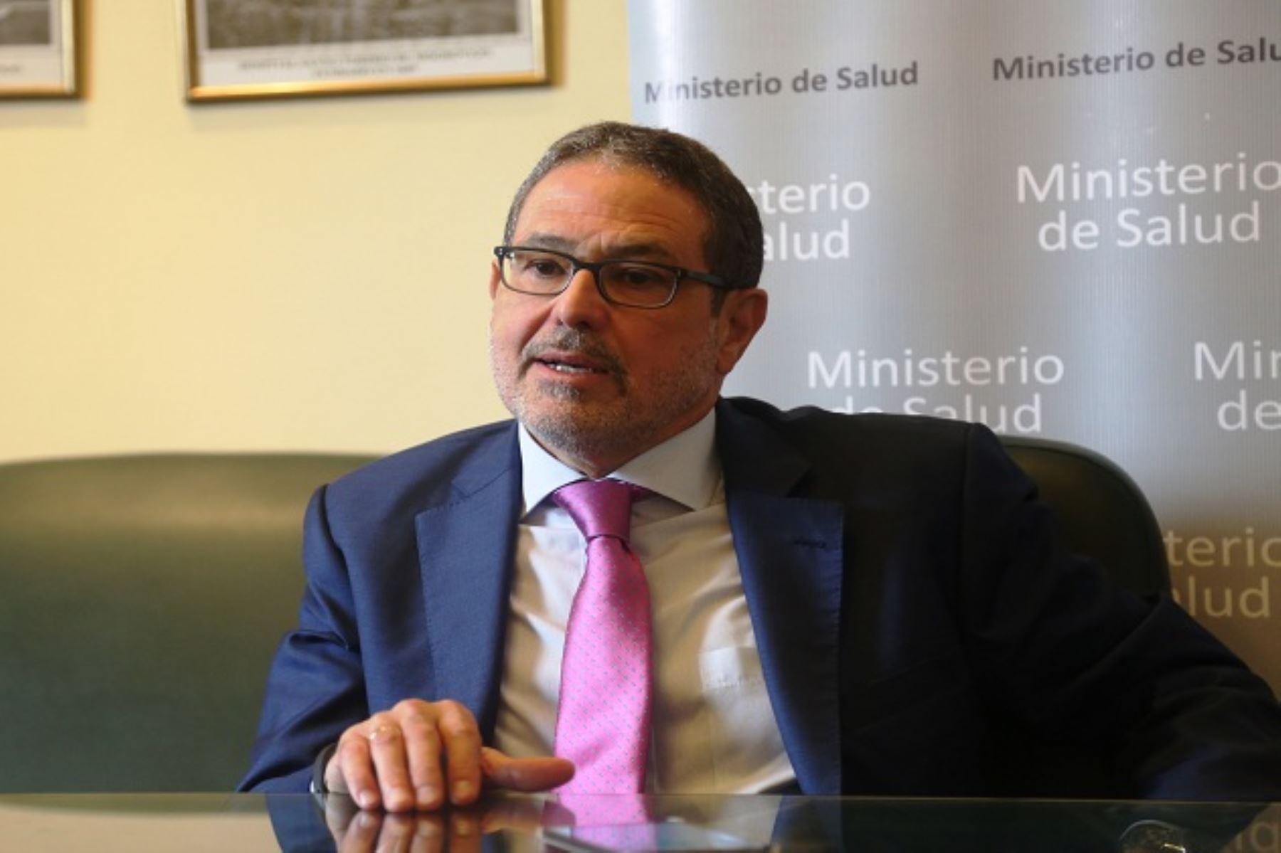 Especialista en oncología pediátrica, Julio Barredo. Foto: Difusión.