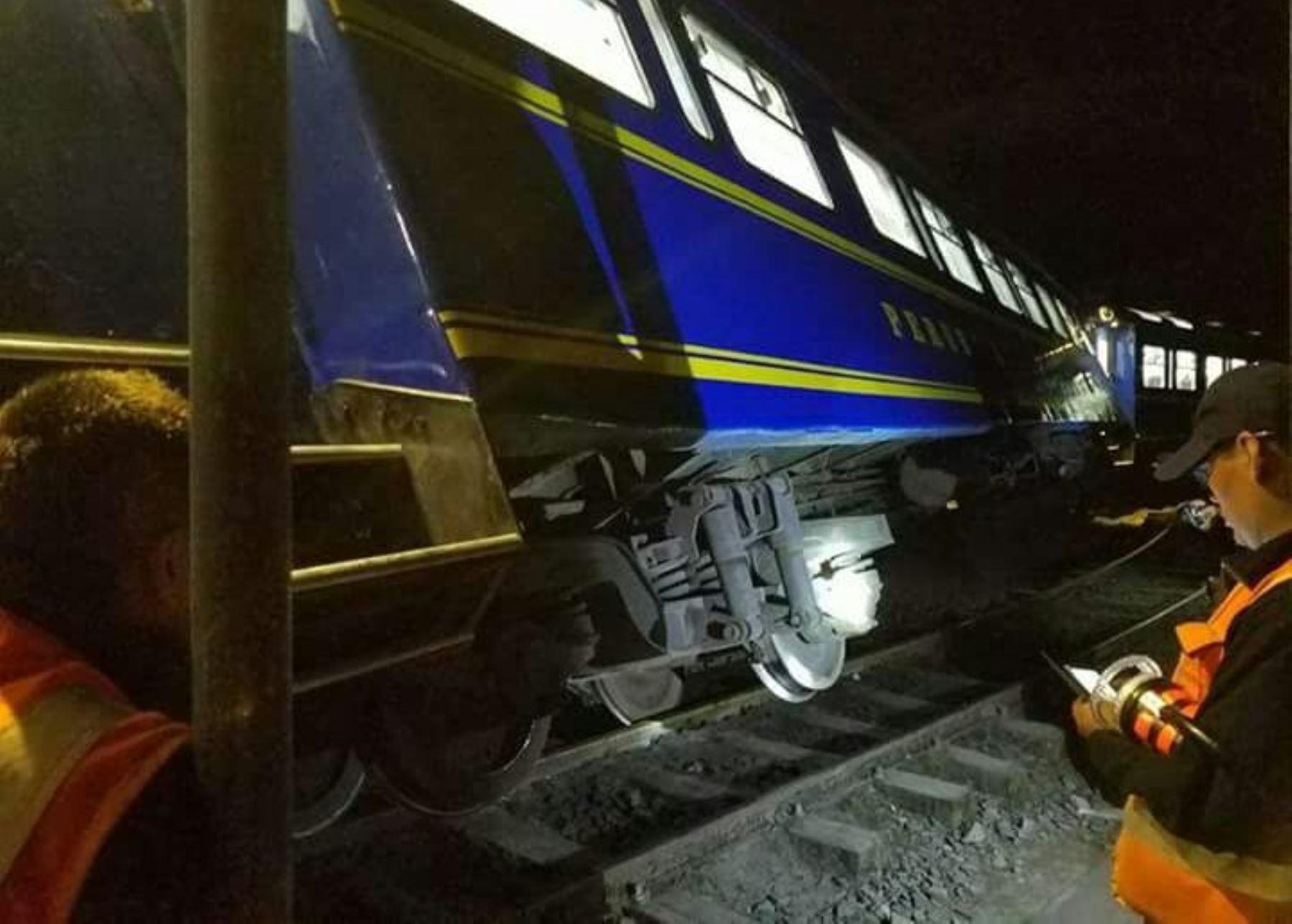 Una persona muere tras ser arrollada por tren en Cusco | Noticias ...