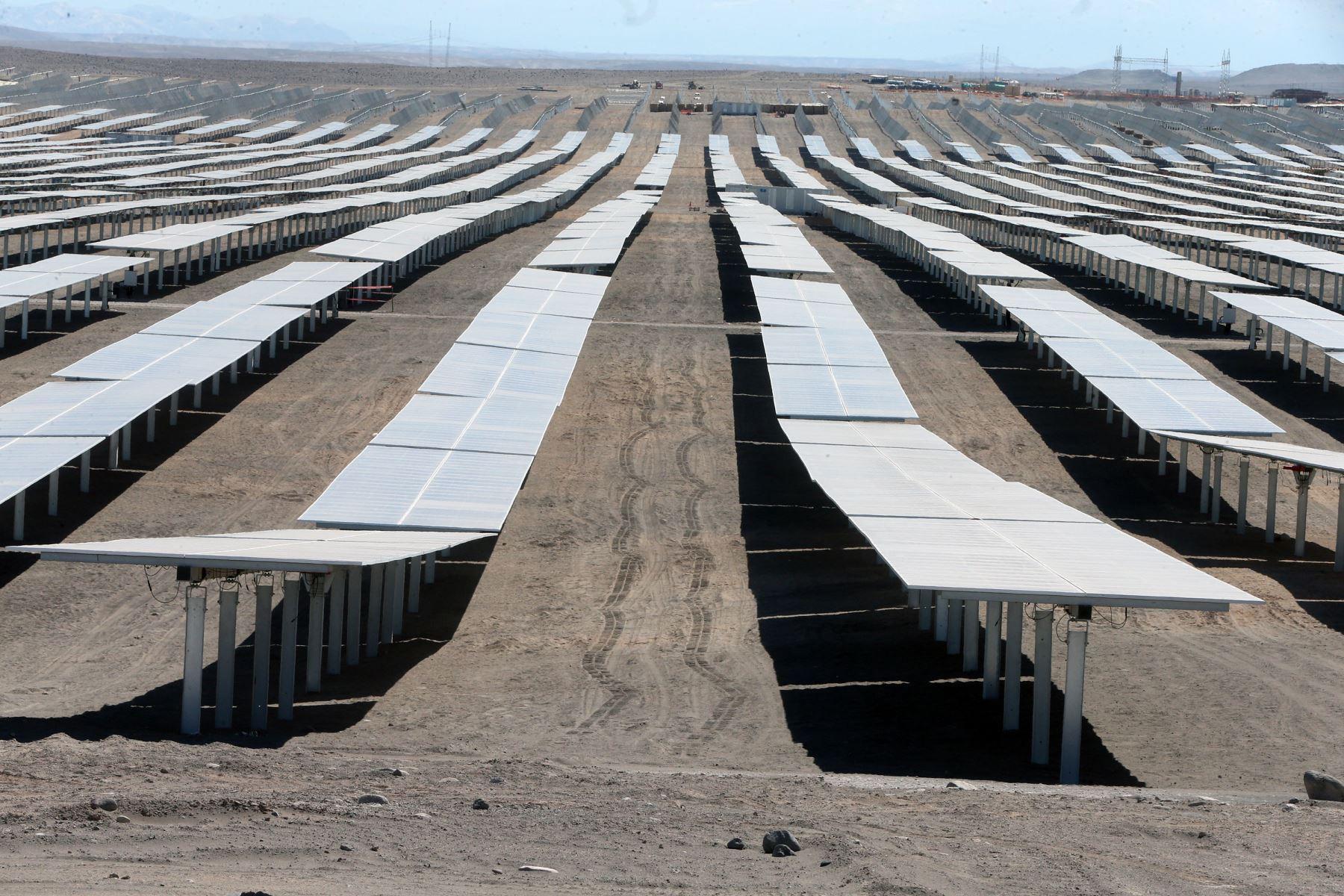 Energía solar. ANDINA/Vidal Tarqui