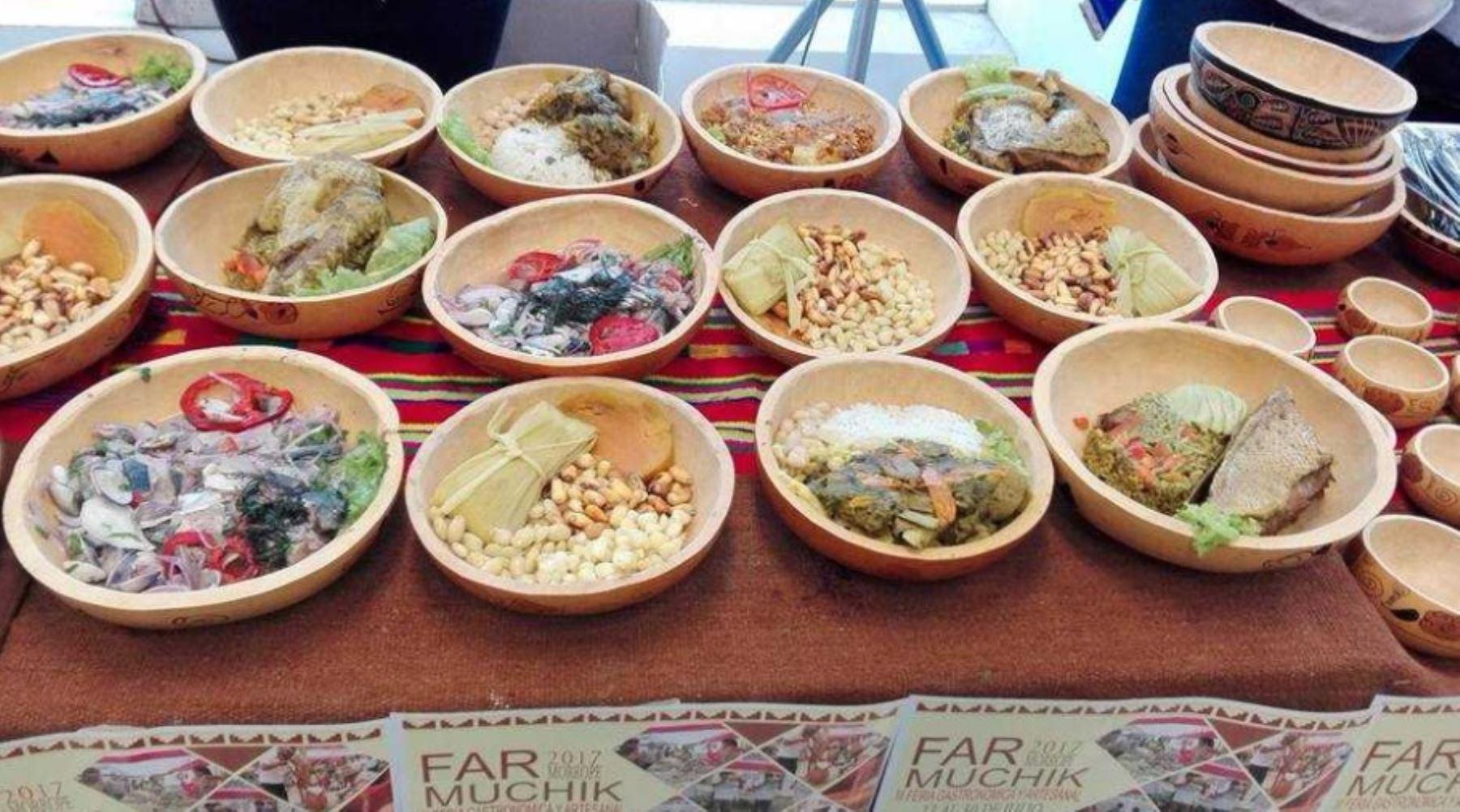 III Feria Gastronómica Artesanal Muchik 2017, en el distrito de Mórrope, a realizarse del 27 al 30 de julio, en Mórrope, Lambayeque.