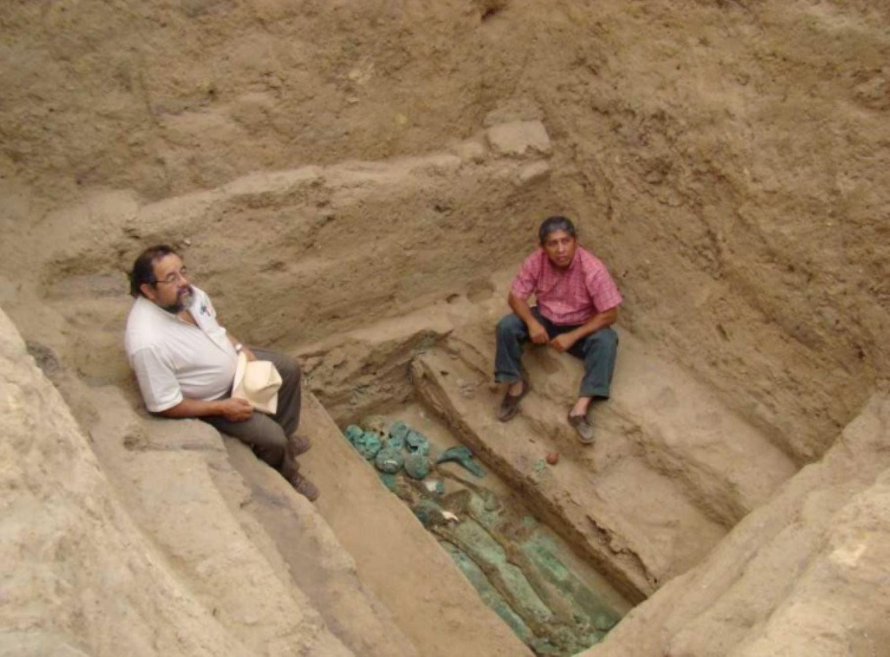 Arqueólogo Walter Alva, descubridor de la tumba del Señor de Sipán, en 1987