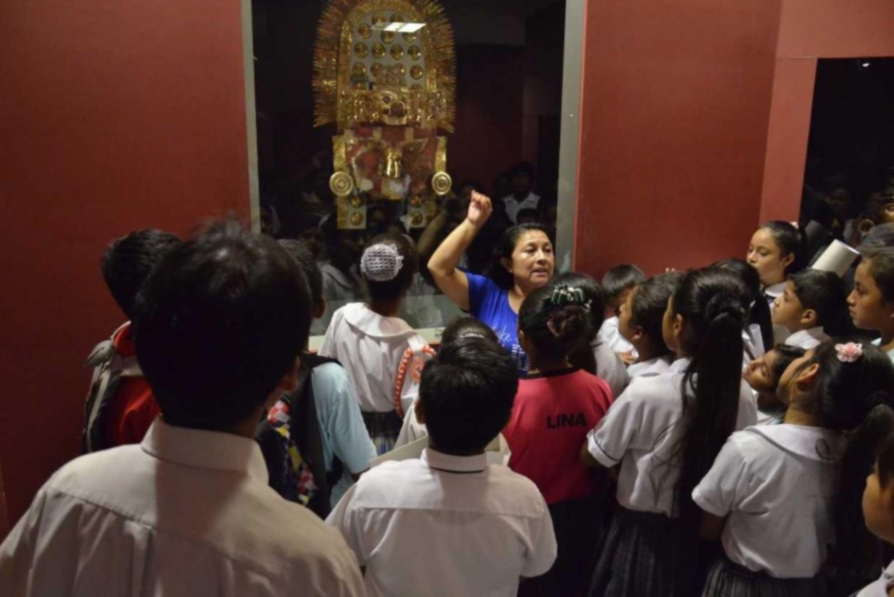 El Museo Nacional Sicán, ubicado en la ciudad de Ferreñafe, reabrió su Sala de Oro y se encuentra preparado para recibir a turistas nacionales y extranjeros que visiten la región Lambayeque durante el fin de semana largo por Fiestas Patrias.
