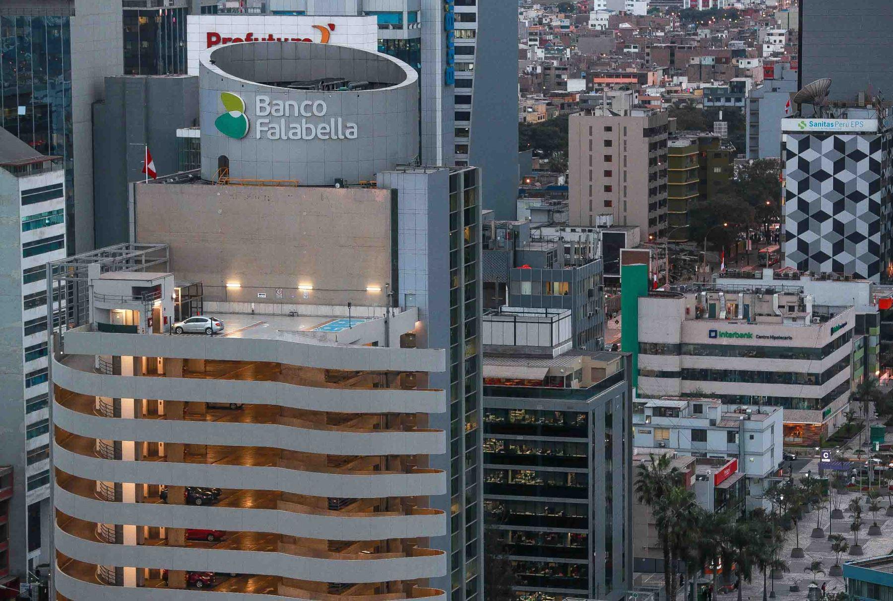 Centro Financiero. ANDINA/Carlos Lezama